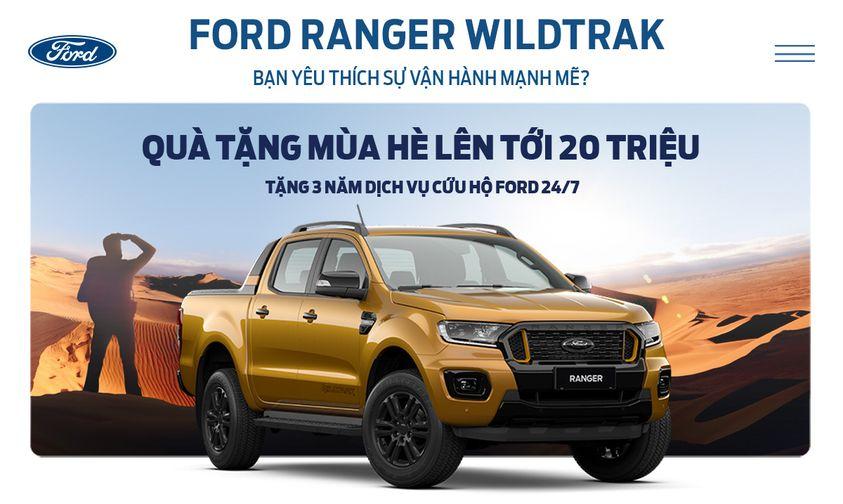 Chương trình khuyến mãi xe Ford tháng 09/2021