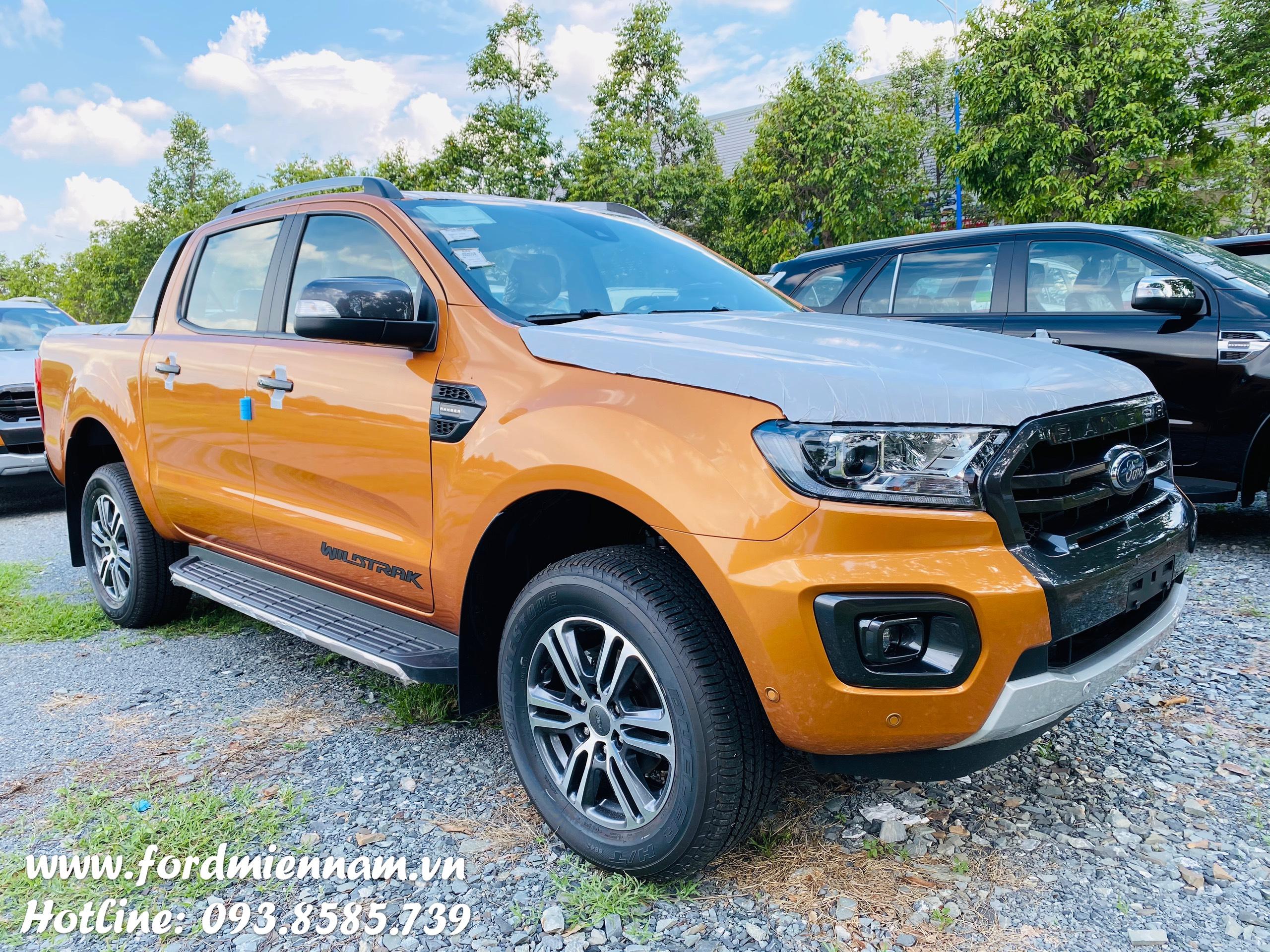 Giá lăn bánh Ford Ranger XLS 2020 ở Bình Dương