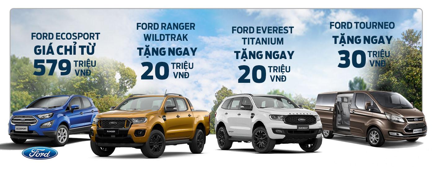 Ford Bình Dương Khuyến mãi đặc biệt xe Ford tháng 06/2021