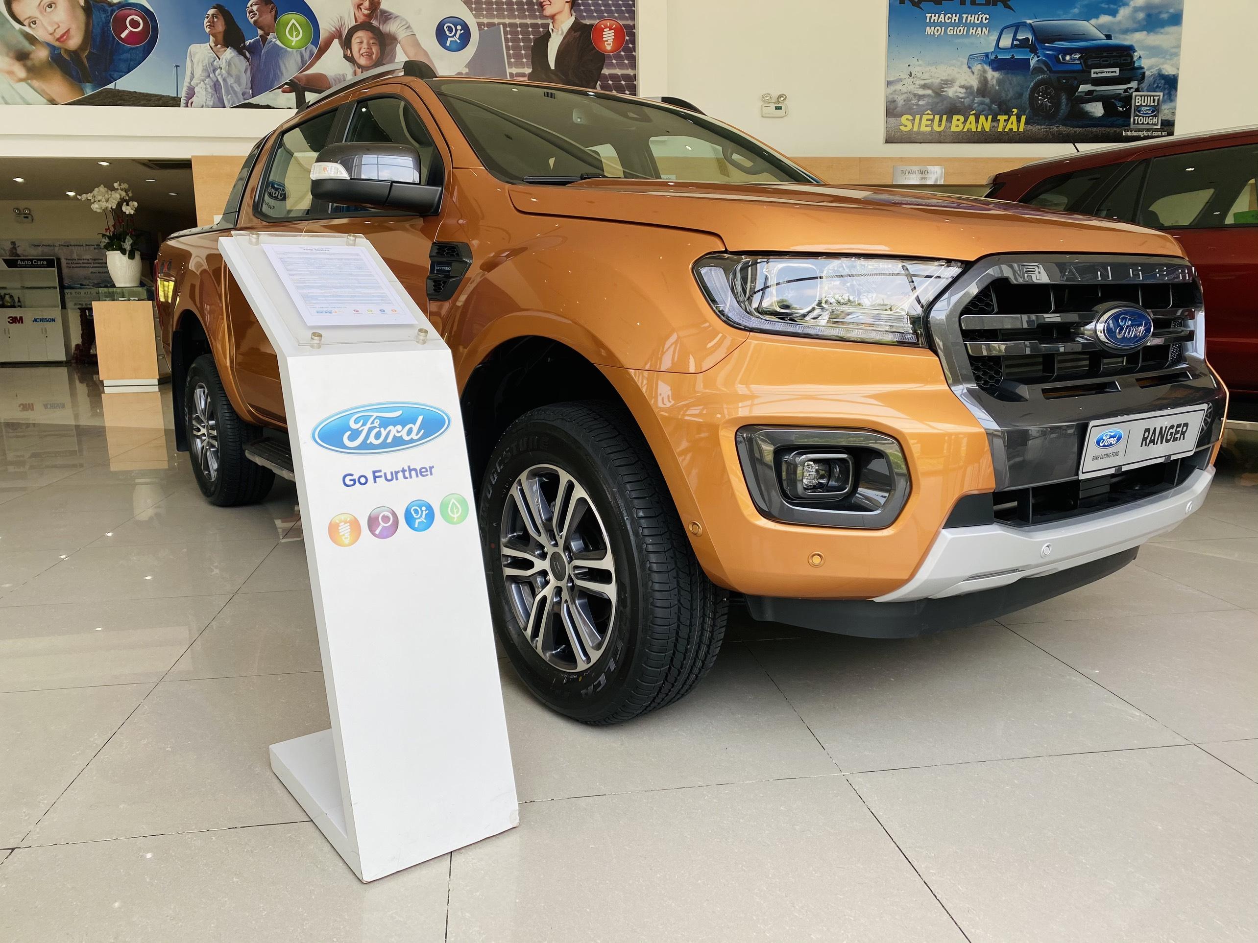 Ford Ranger lắp ráp tại Việt Nam chất lượng có bằng xe nhập khẩu